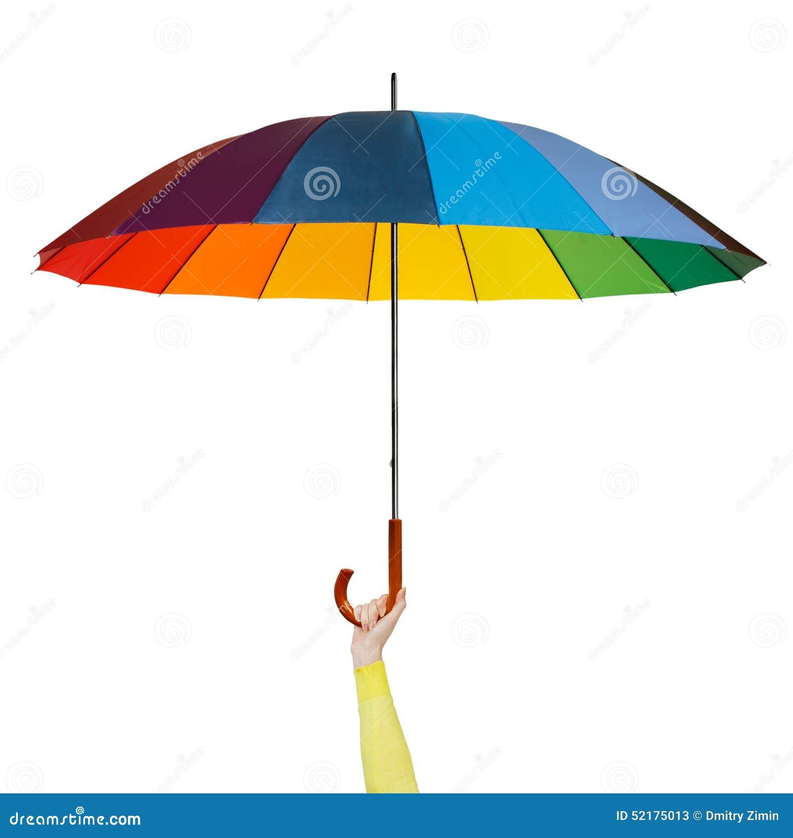 main avec le parapluie color - Parapluie Color