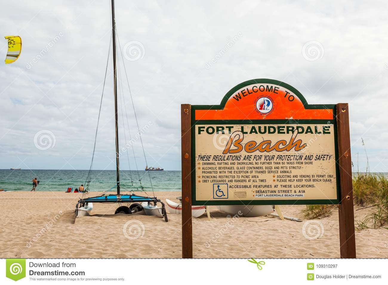 Editorial Who Is Looking Out For These >> Fort Lauderdale Beach In Florida Editorial Photography Image Of