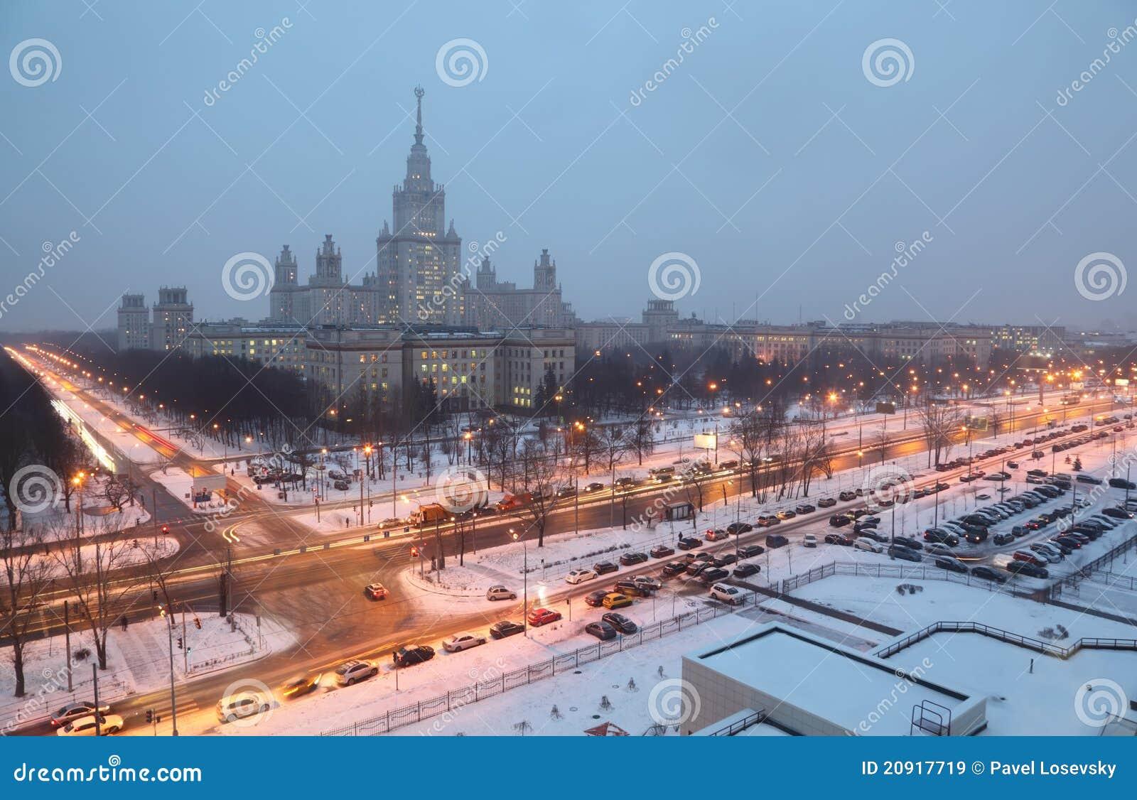 Main Russian University And 13