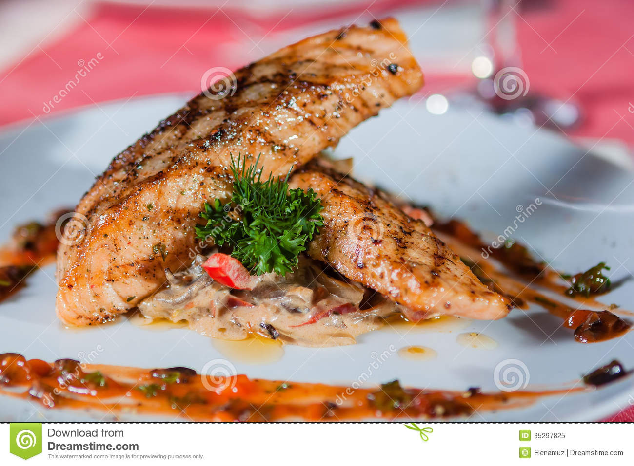 Main course royalty free stock photo image 35297825 for Fish on main