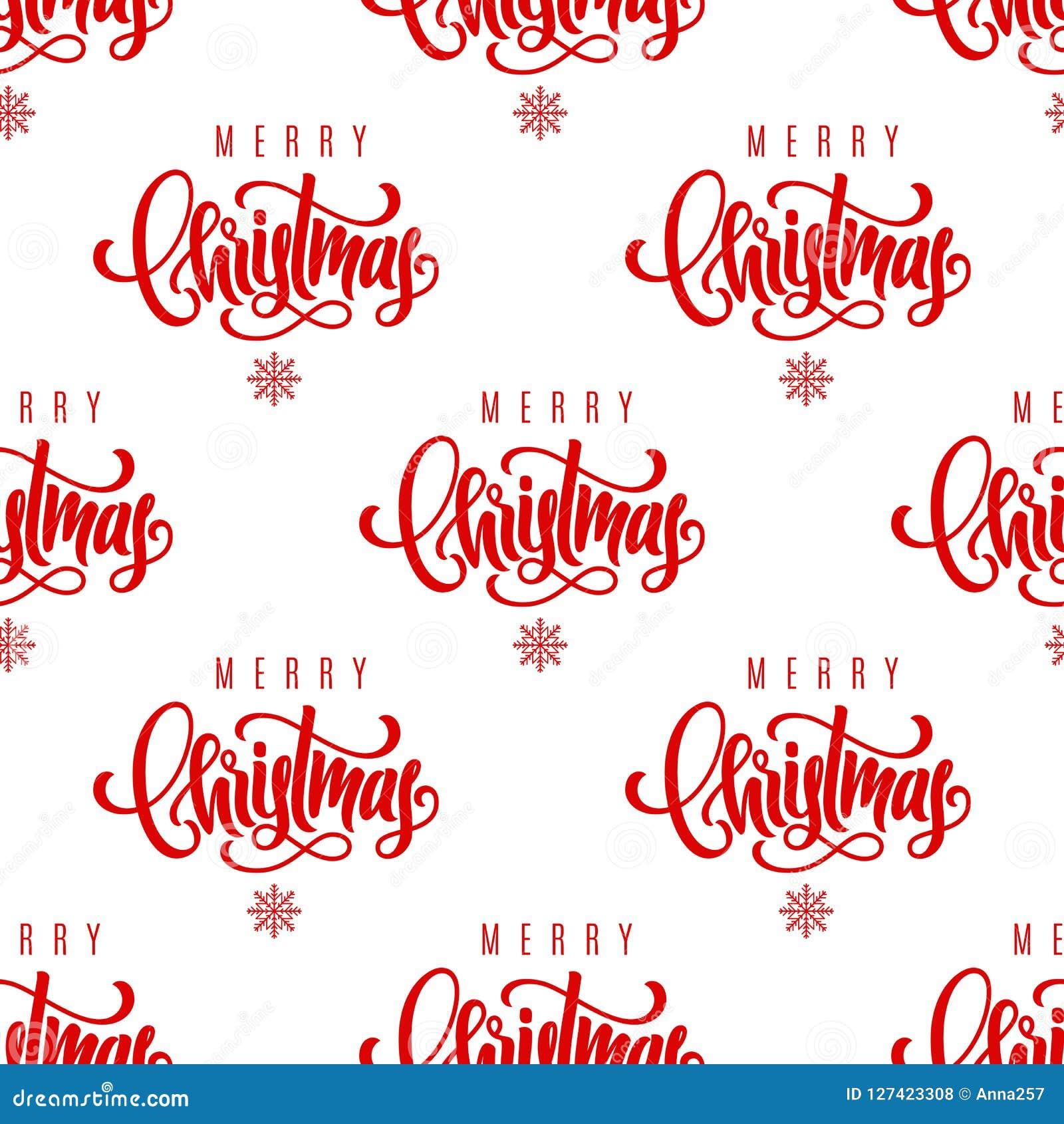 Main De Joyeux Noel Marquant Avec Des Lettres Le Fond Sans Couture