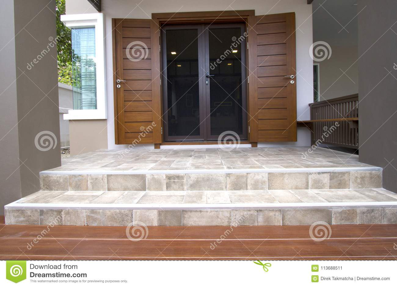 New modern house exterior