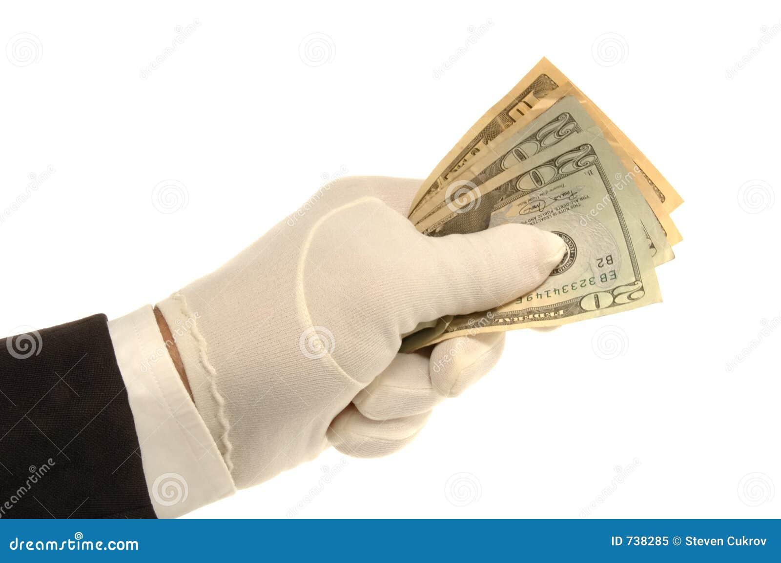 Main et argent