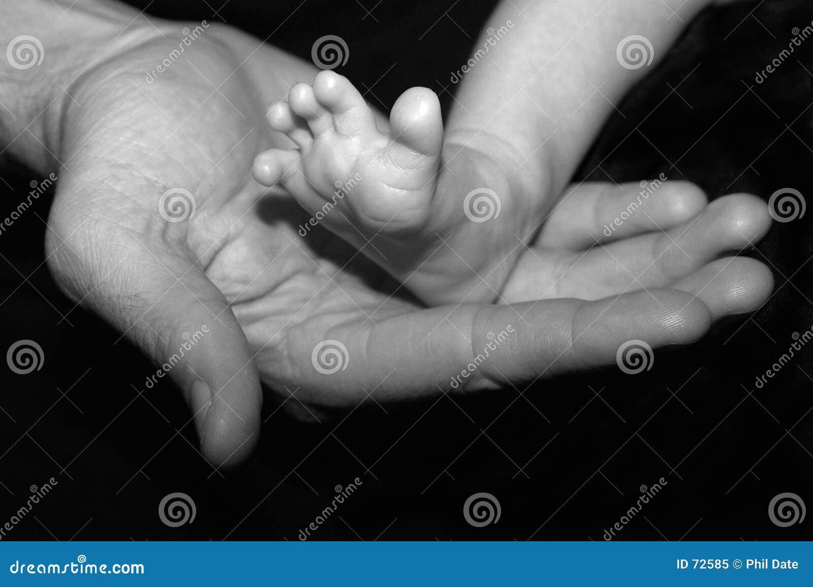 Main et pied