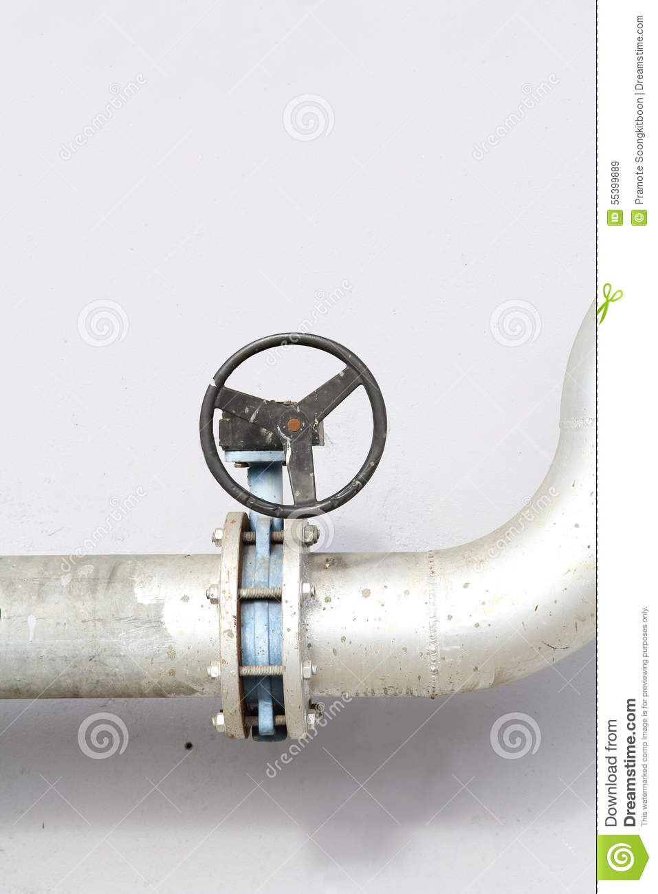 Main faucet of water stock image. Image of stopcock, tube - 55399889