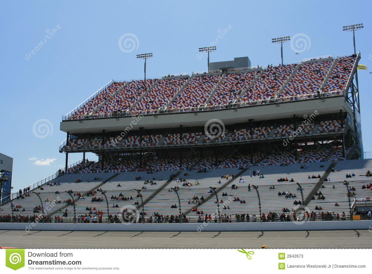 Main Grandstand At Richmond 2 Stock Image Image Of