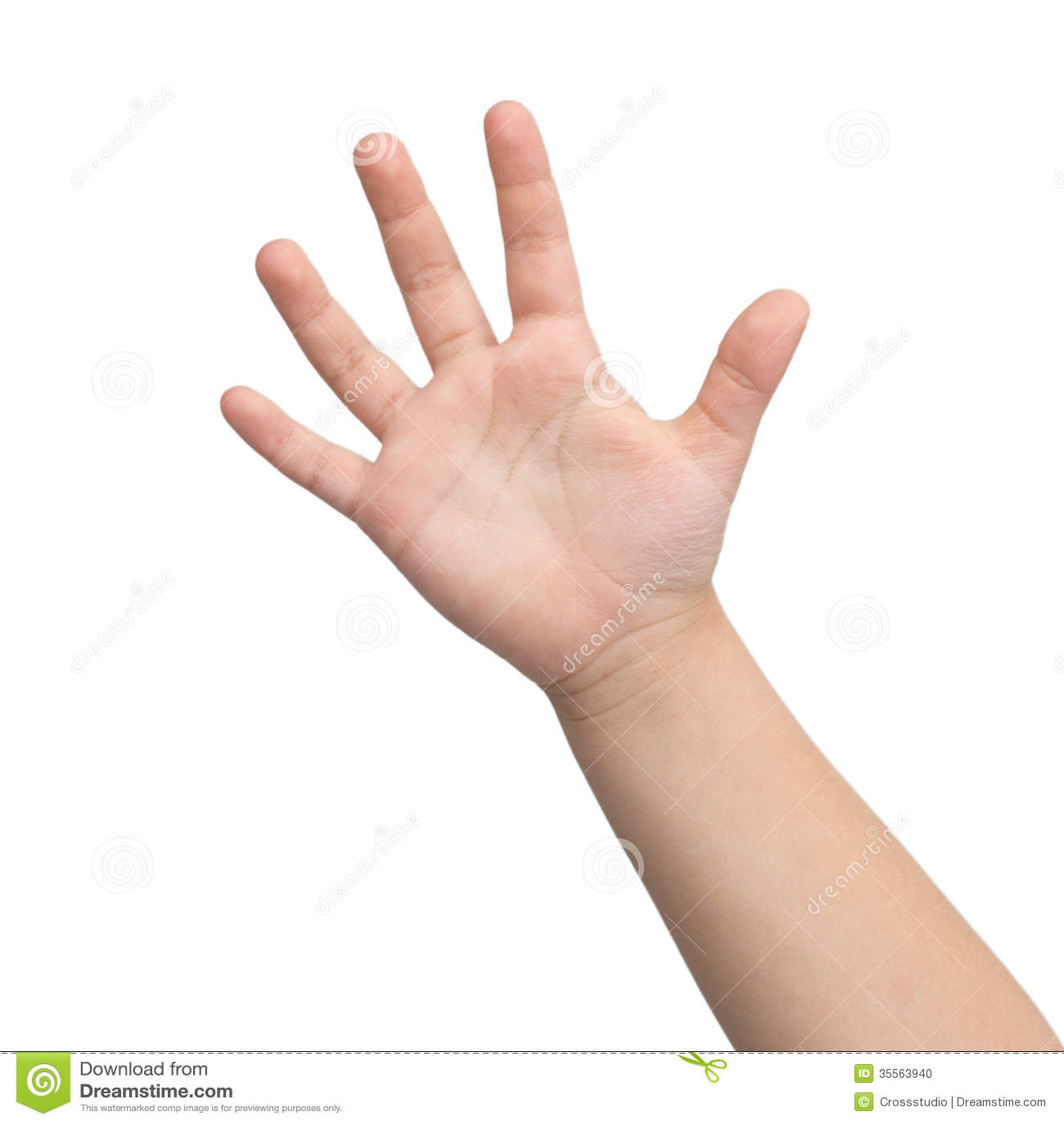 Main. Main d un enfant.