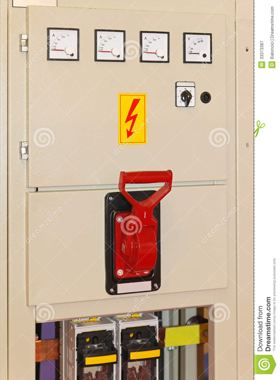 Main Power Switch Stock Image  Image Of Fuse  Powered