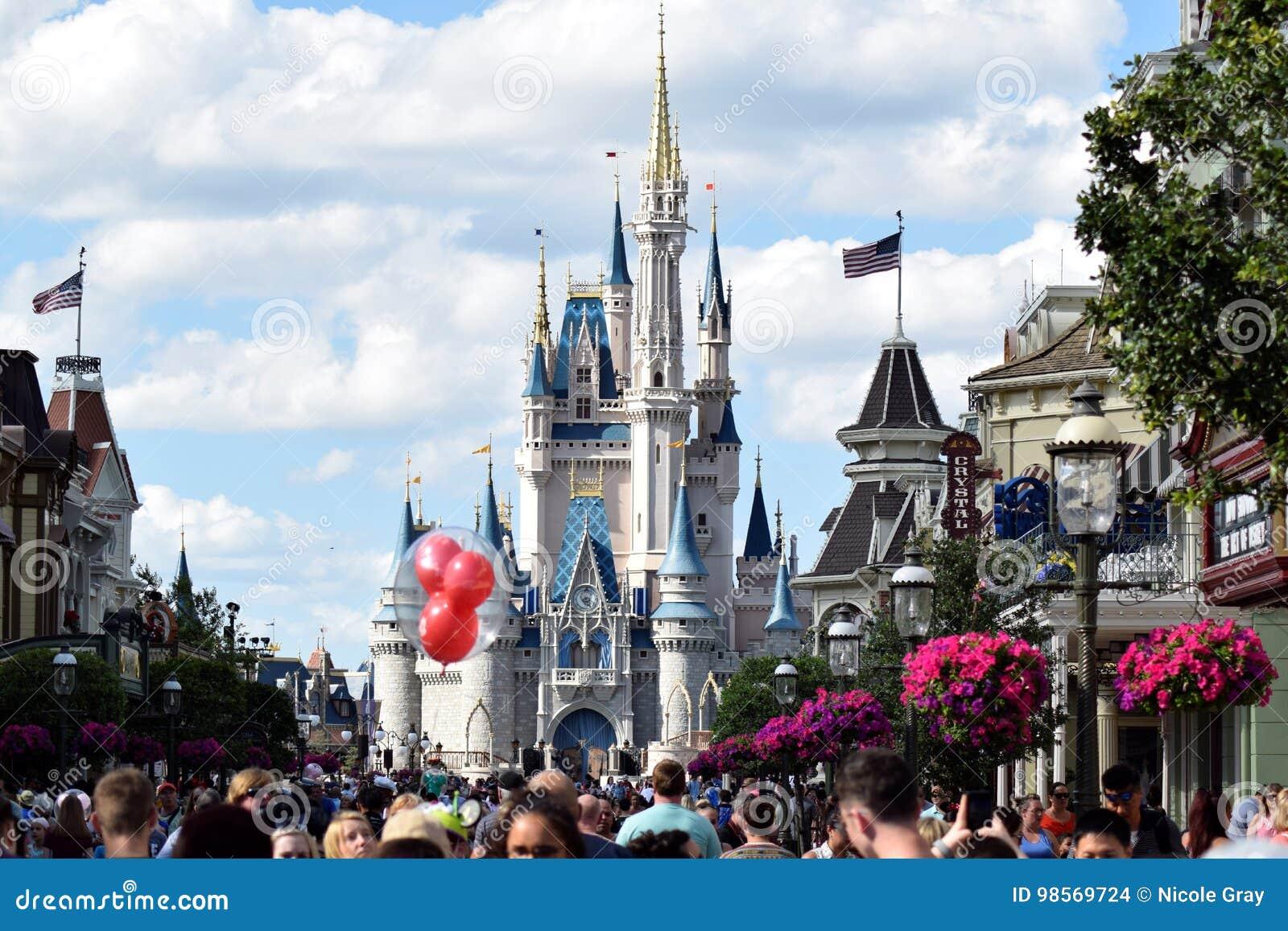 Main Street Disney värld, Florida