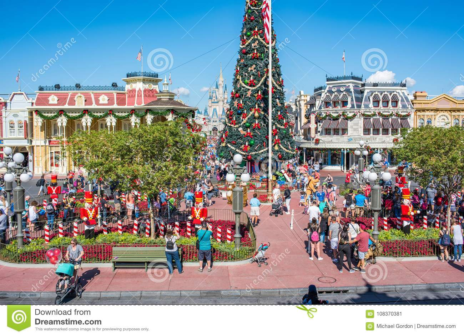 Main Street Etats-Unis au royaume magique, Walt Disney World