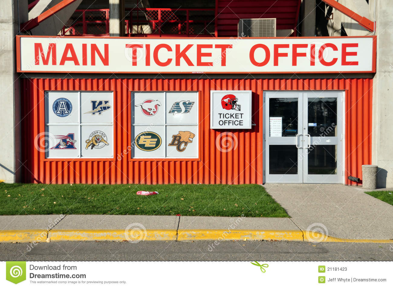 Main Ticket Office, McMahon Stadium