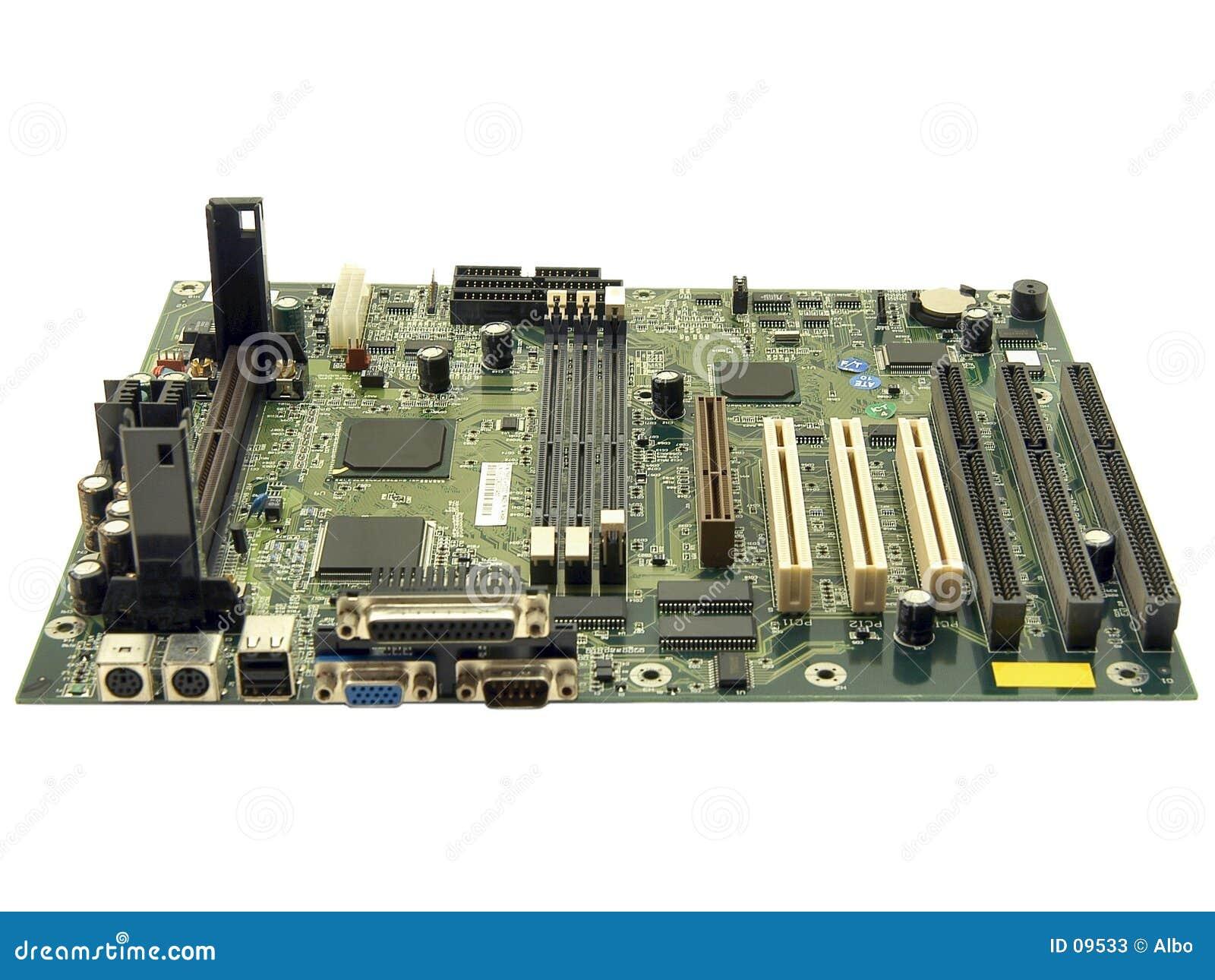 Mainboard del ordenador