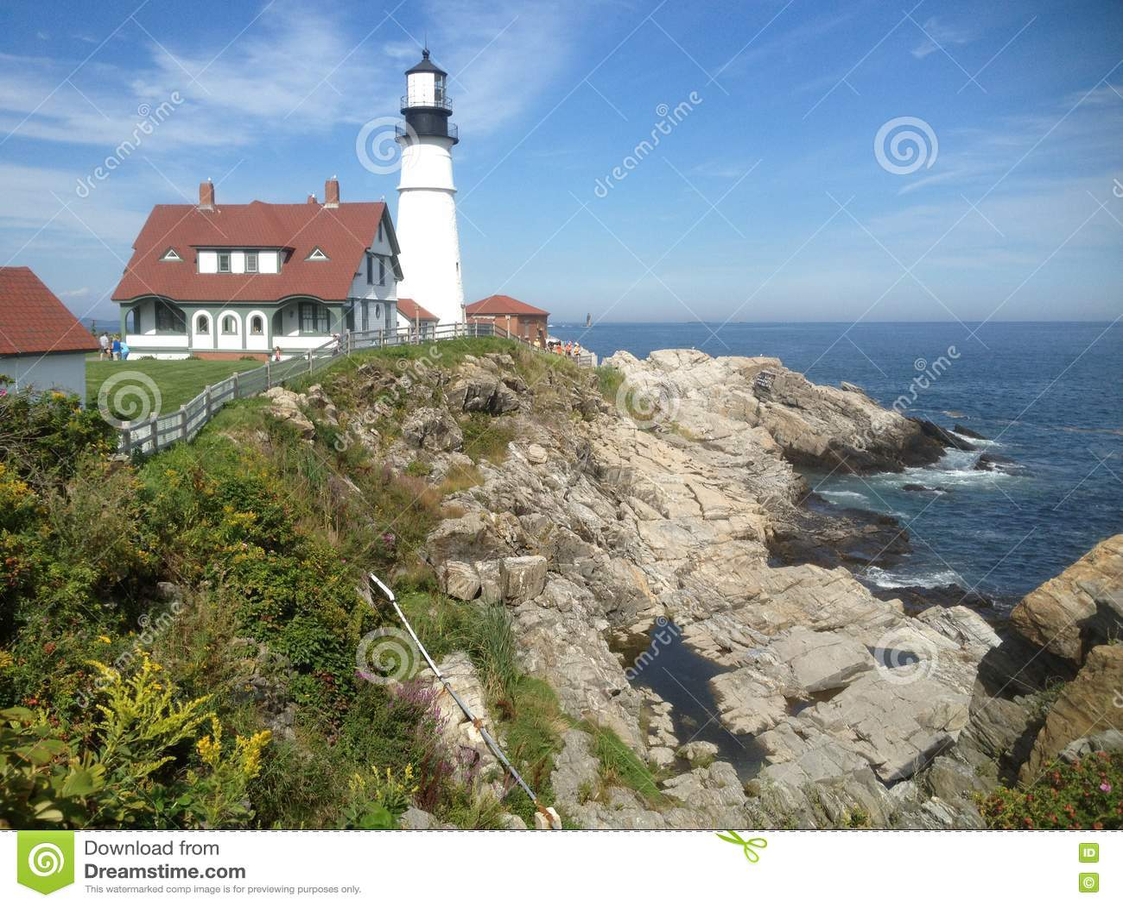 Maine latarni morskiej usa