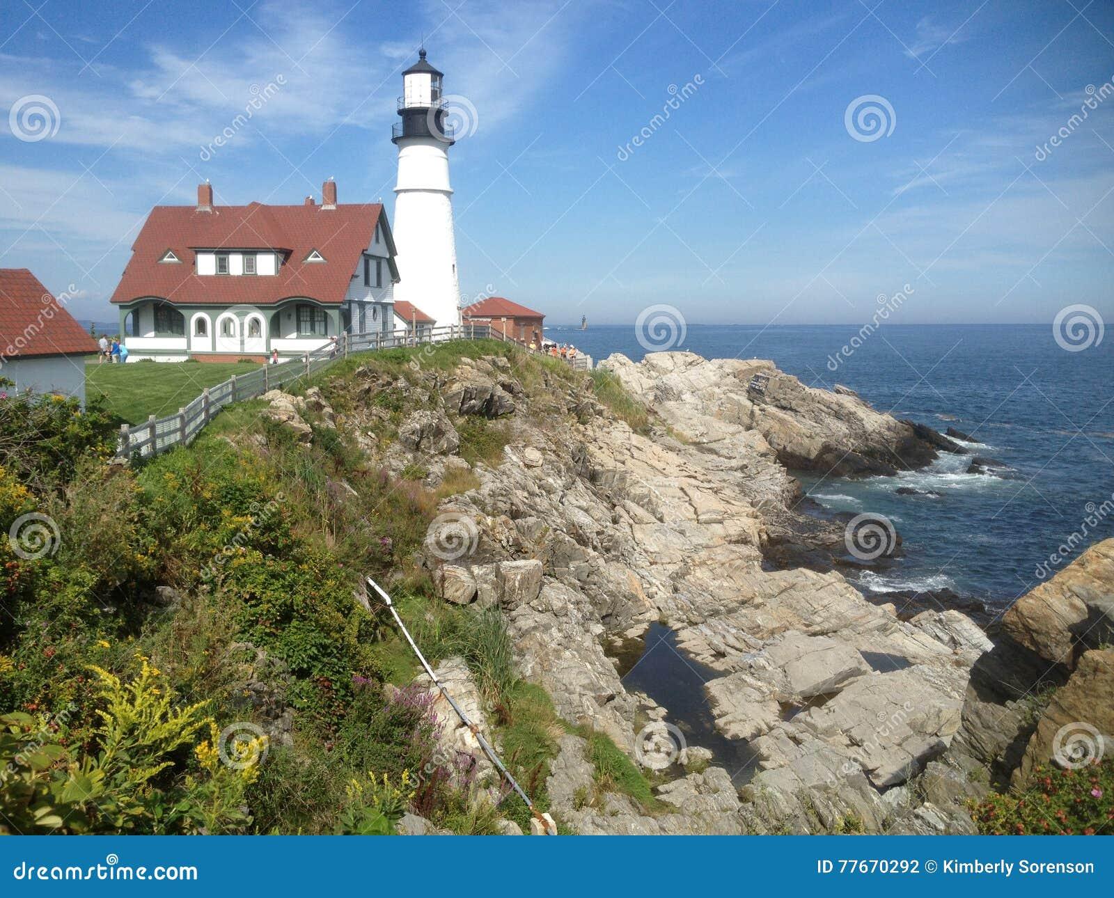 Maine Lighthouse los E.E.U.U.