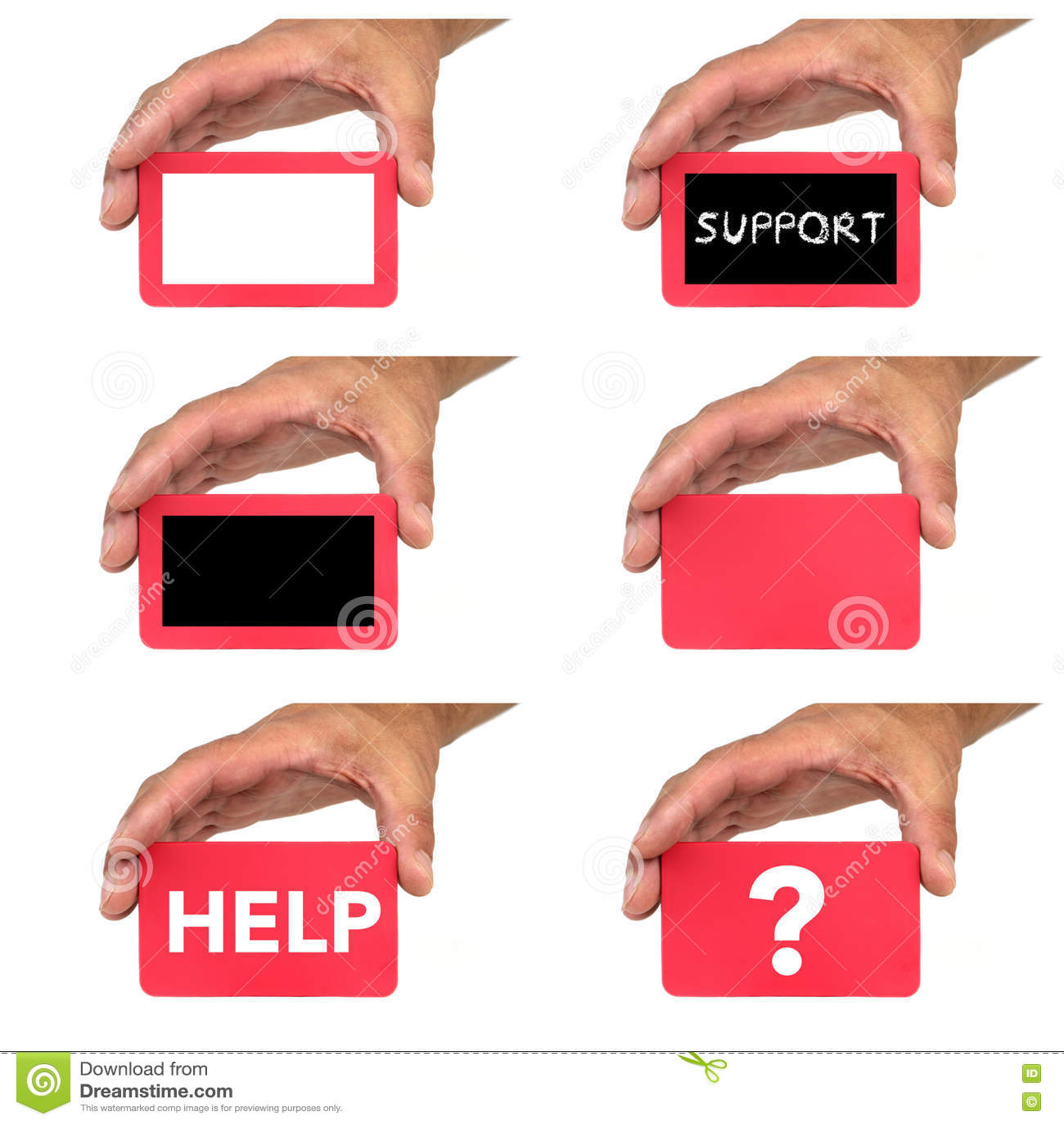 Download Mains Tenant Et Montrant Des Cartes Avec Des Message Textuels De Chlak Photo stock - Image du homme, repère: 63075268