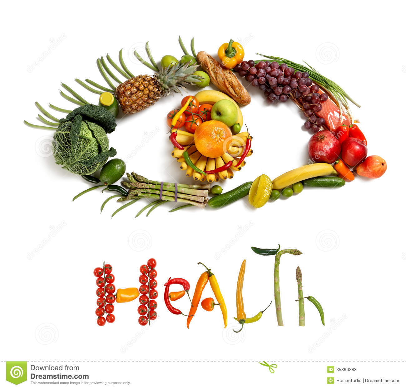 fruits and vegetables for healthy eyes bear fruit
