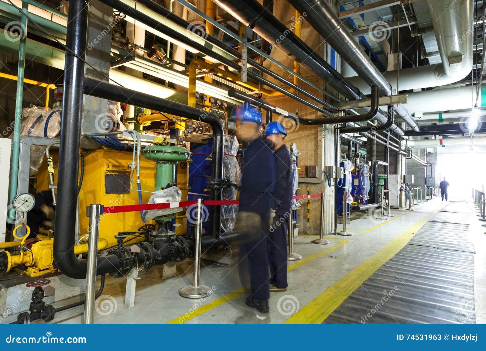 Best Designed Heating Plant Room