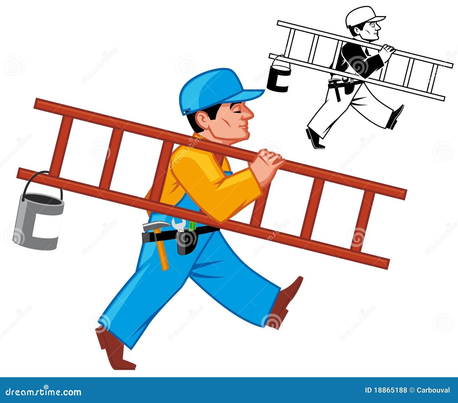 free clipart maintenance worker - photo #8