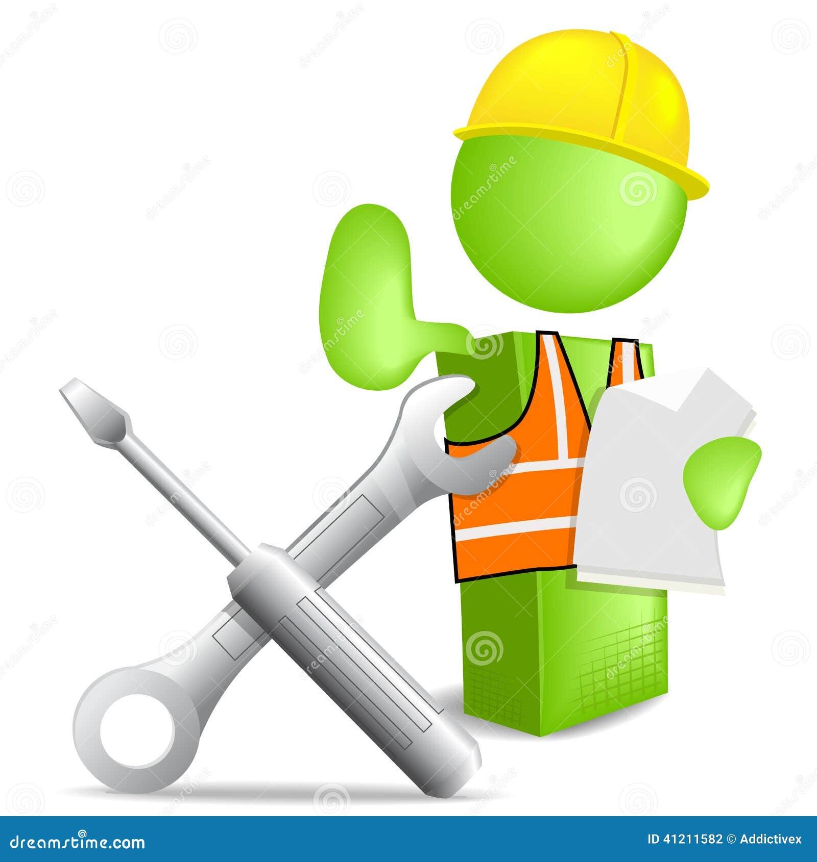 free clipart maintenance worker - photo #44