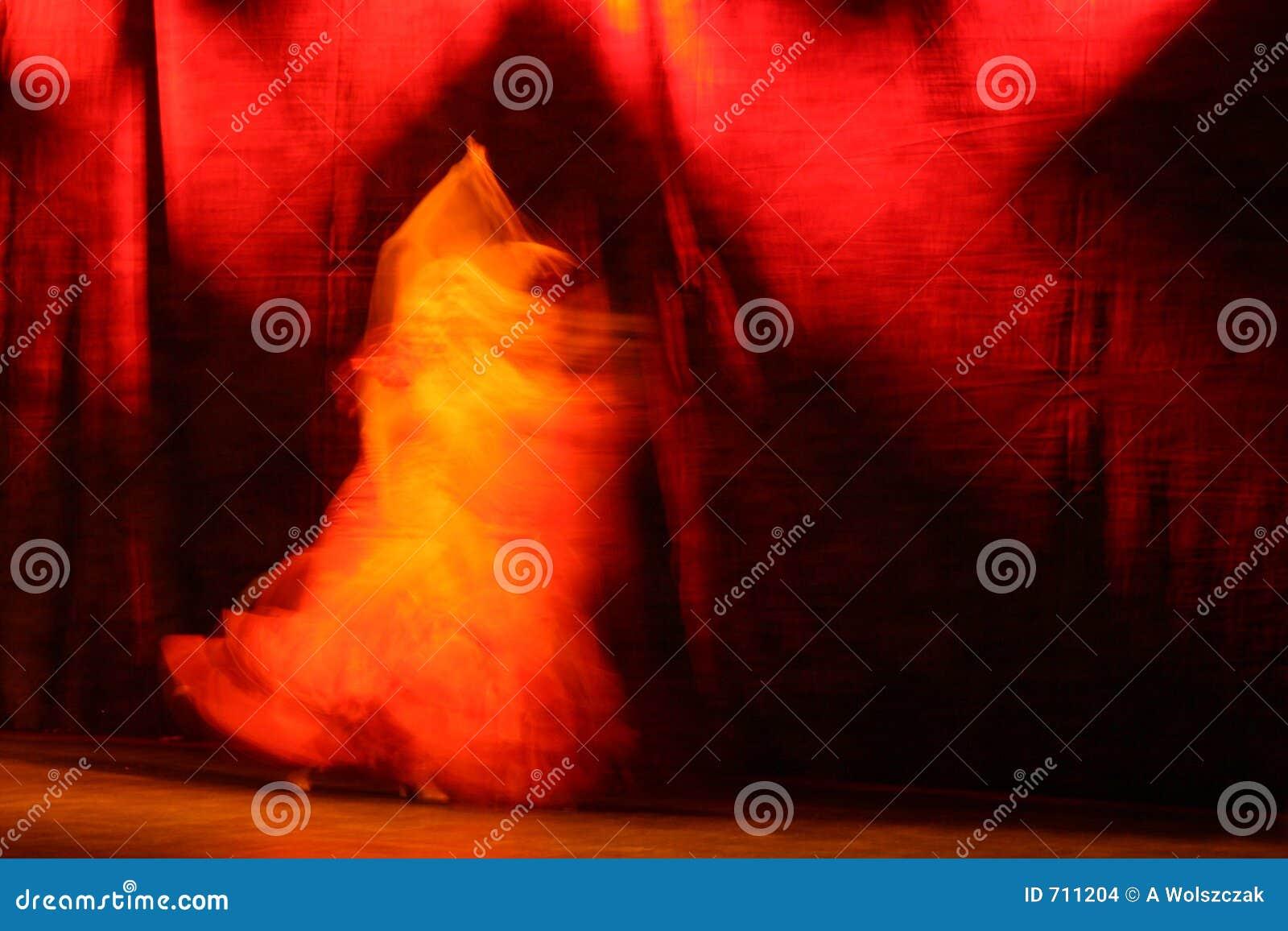 Maintien de flamenco