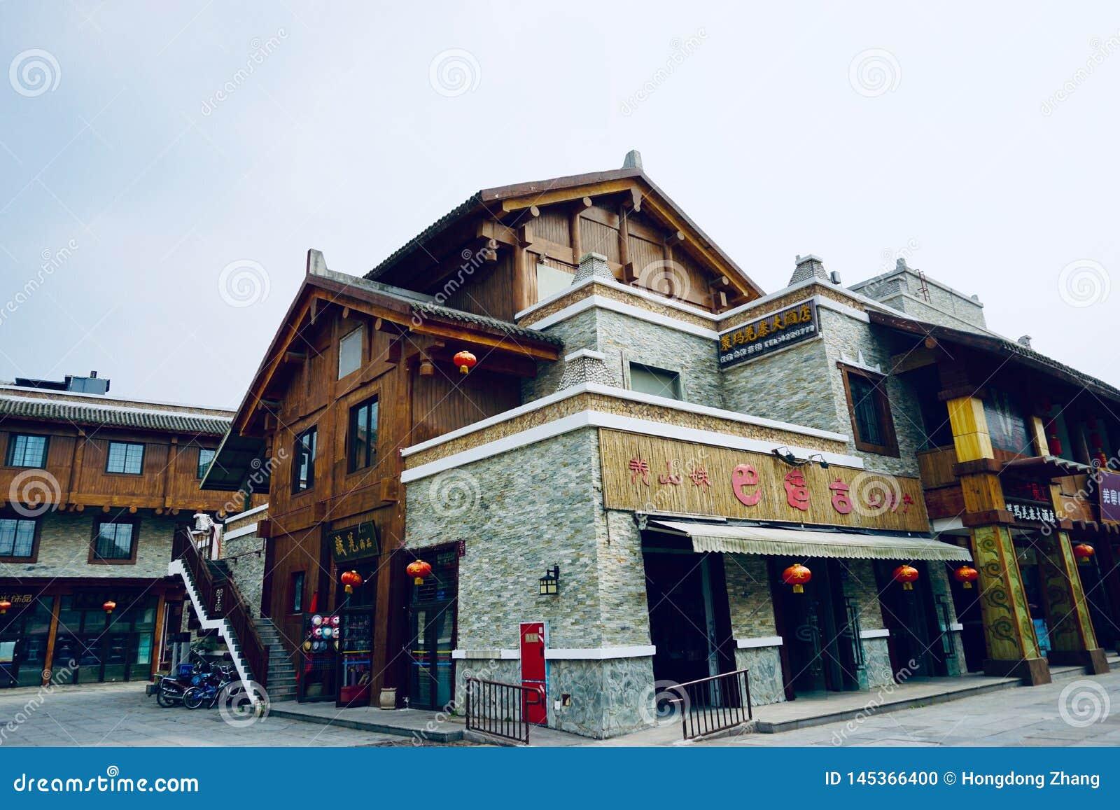 A maioria de residência étnica do estilo de Chiang