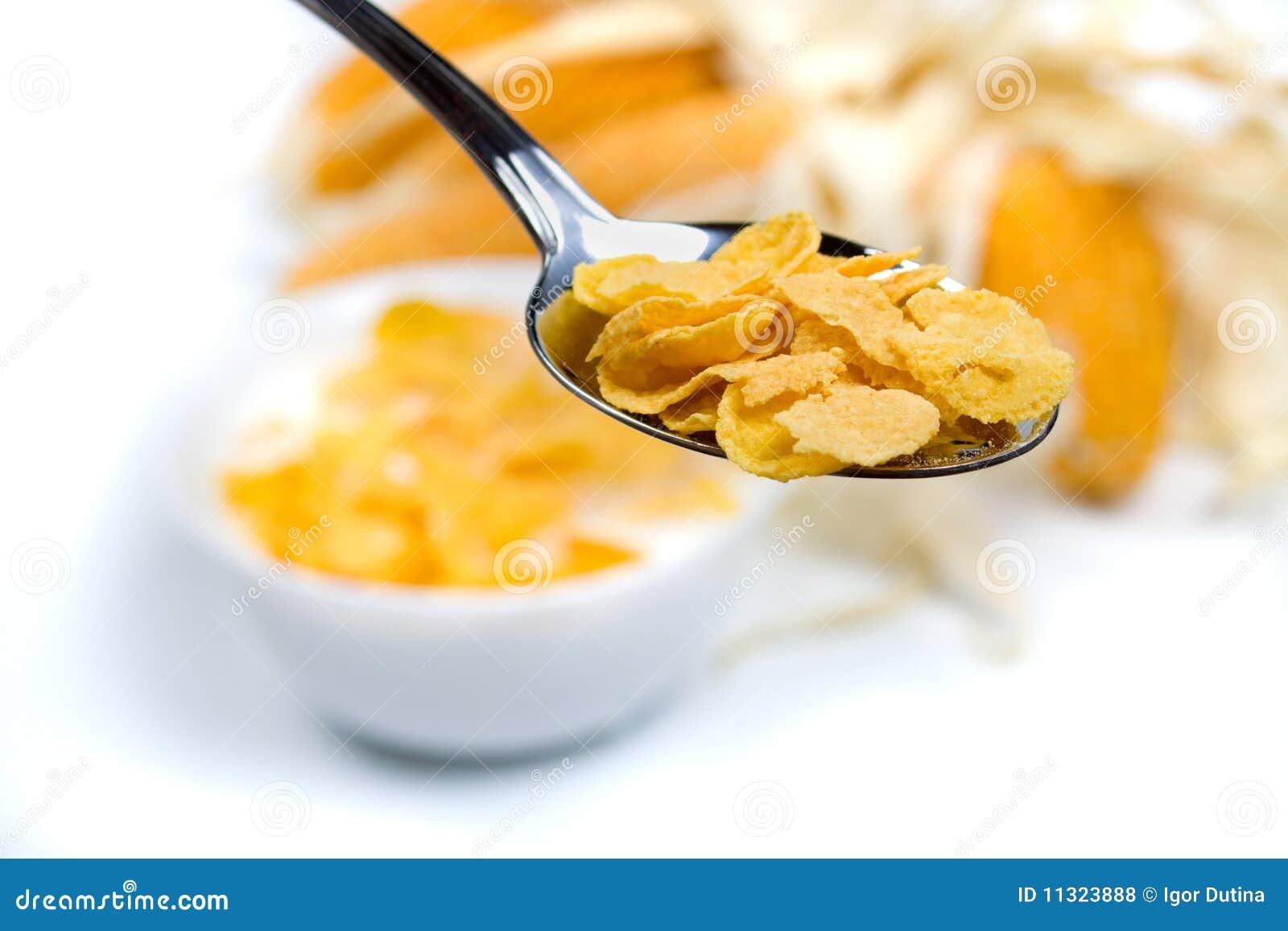 Maisgetreidenahrung
