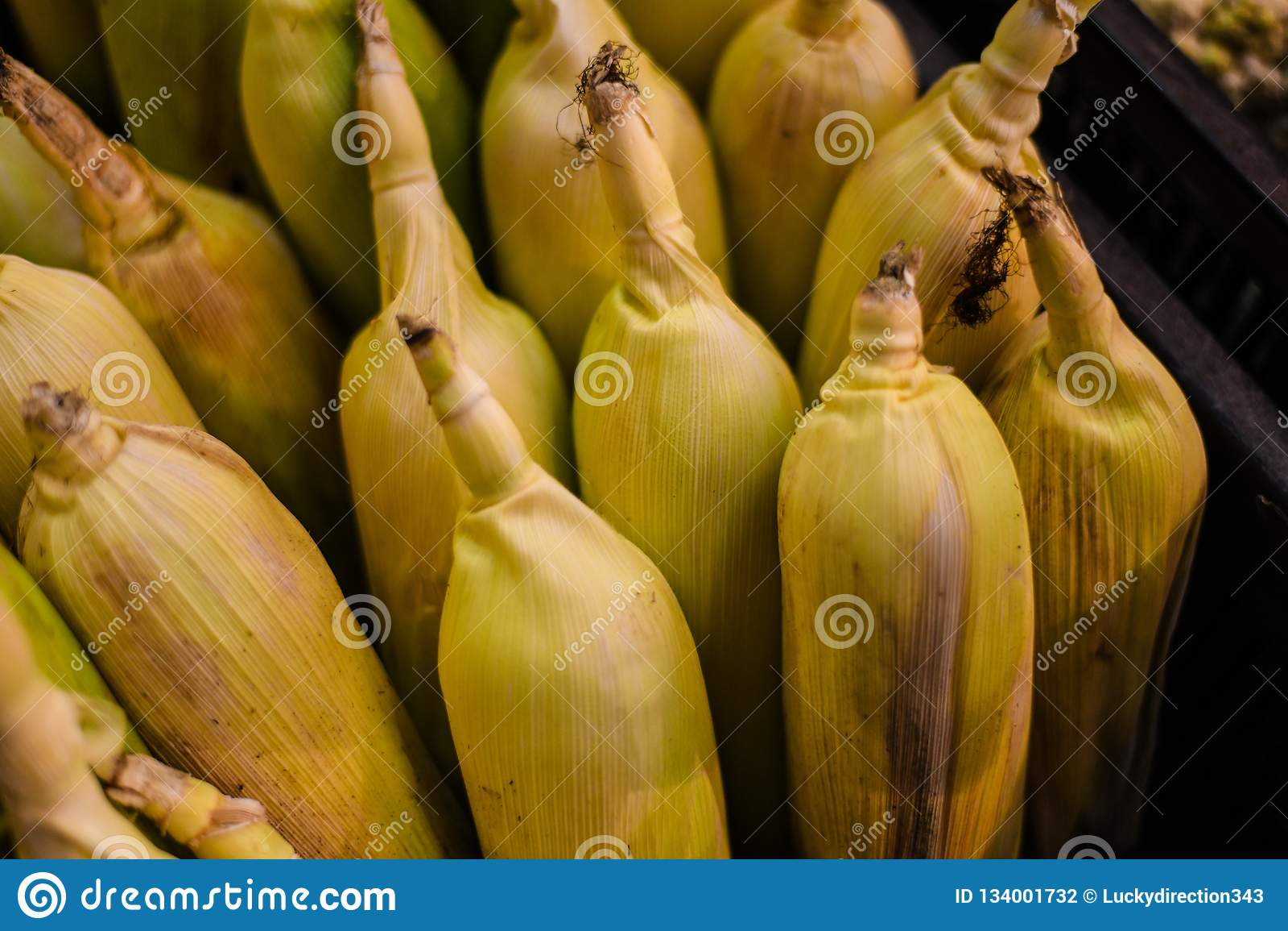 Maisnahaufnahme schoss Nahrungsmittelfrüchte Franc