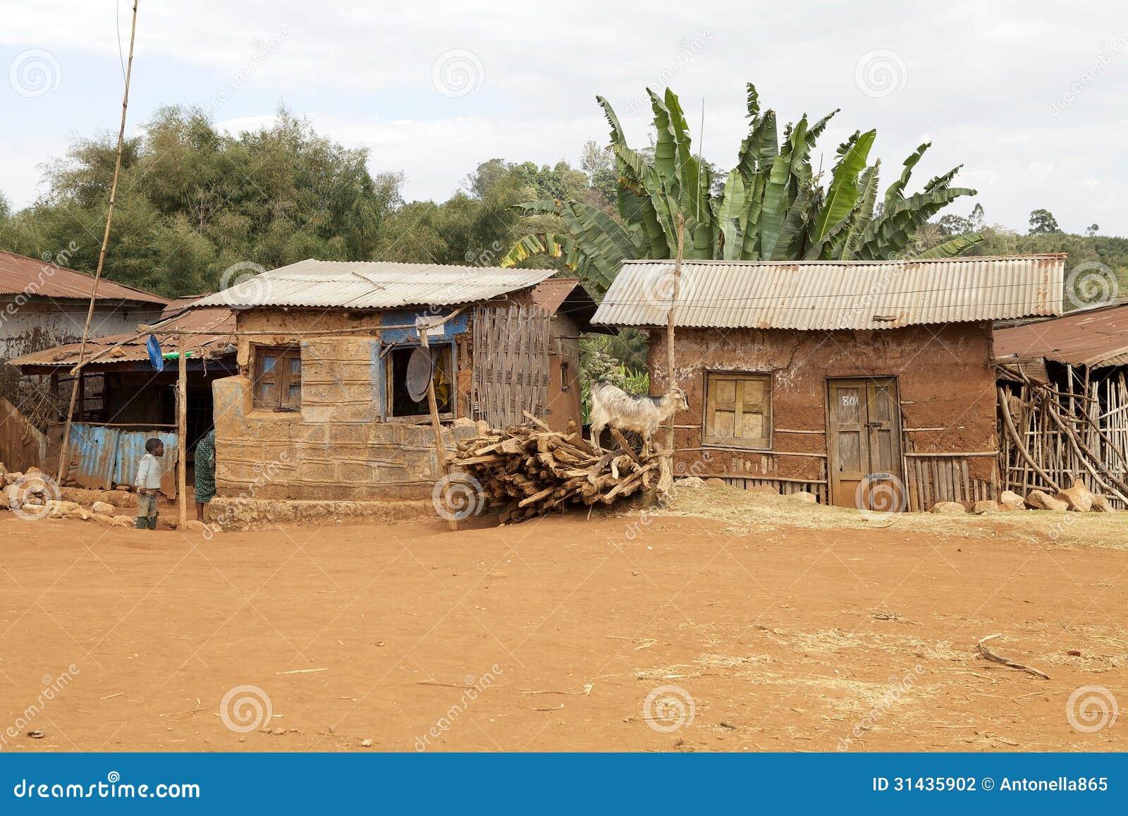 Ethiopie maison