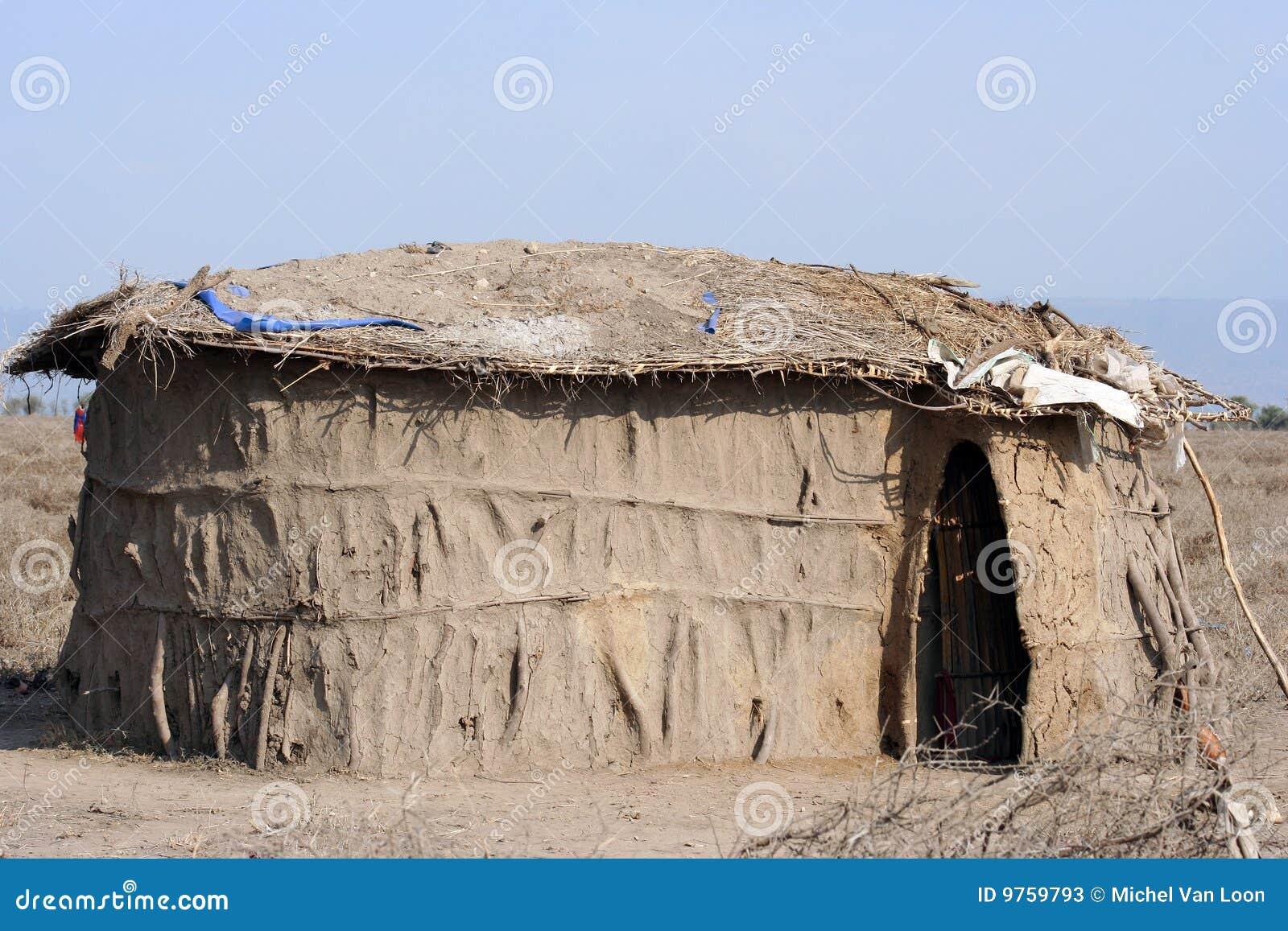 Maison traditionnel afrique africain