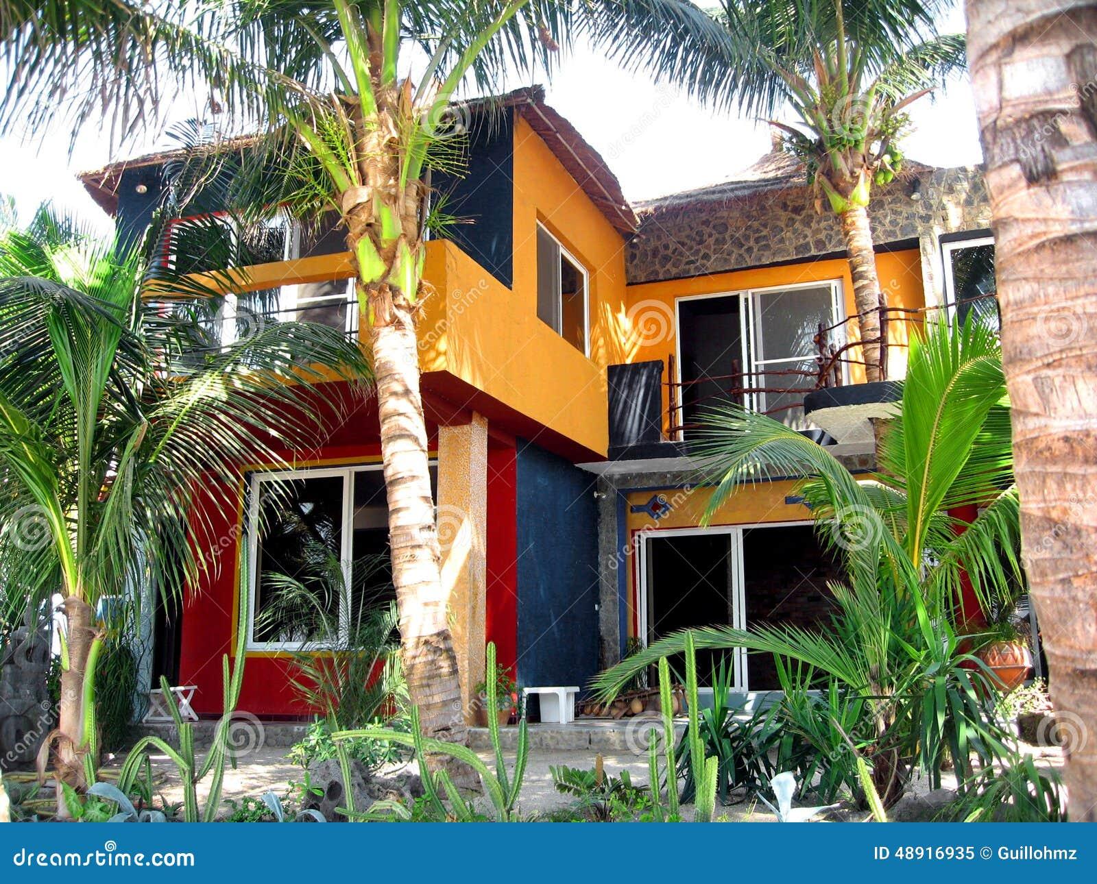 Maison africaine sénégal photo stock