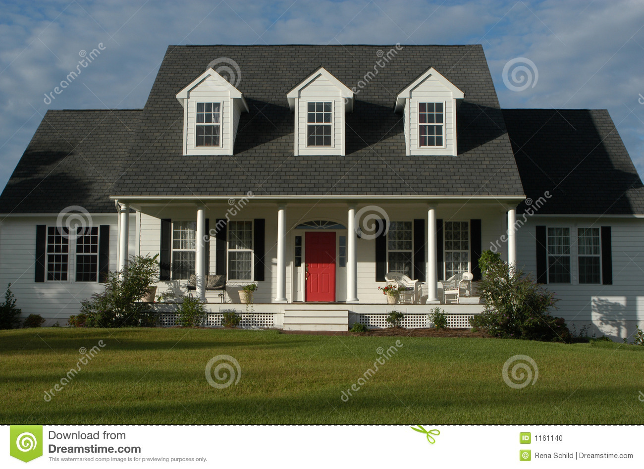 Maison am ricaine photo stock image 1161140 - Maison al americaine ...