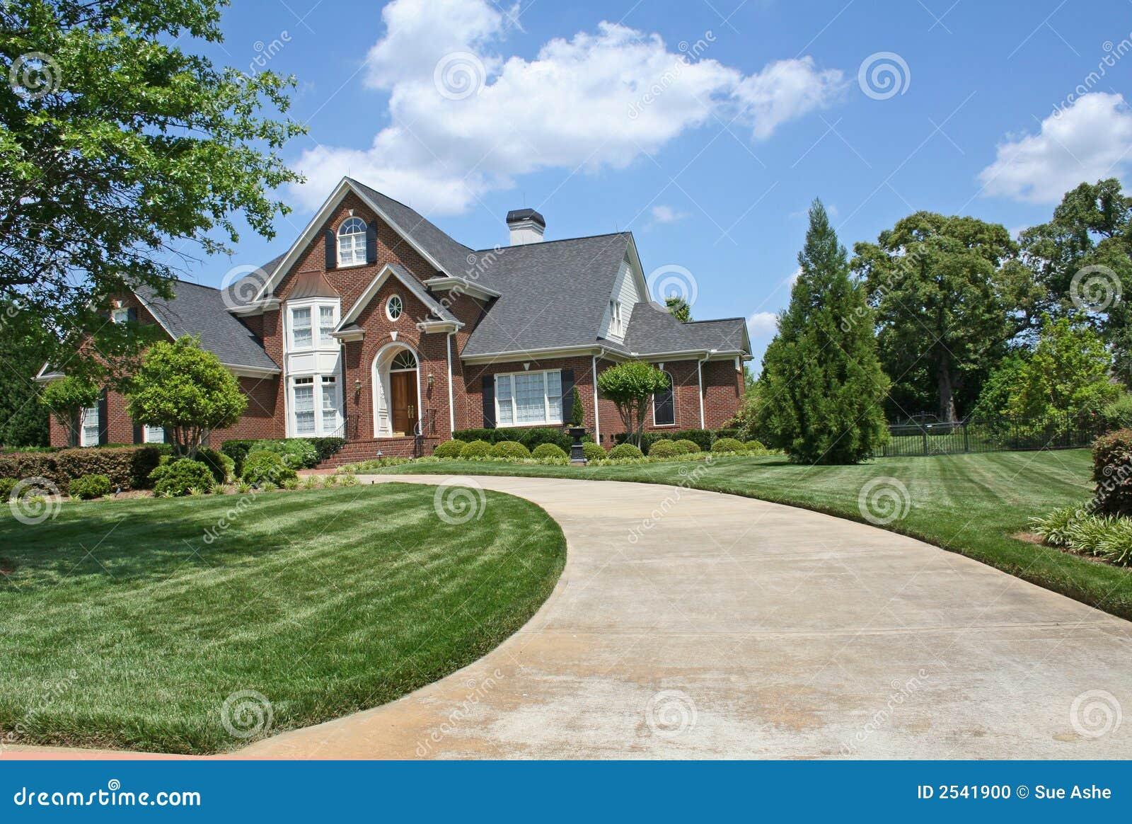 Maison am ricaine de luxe photo stock image 2541900 - Style maison americaine ...