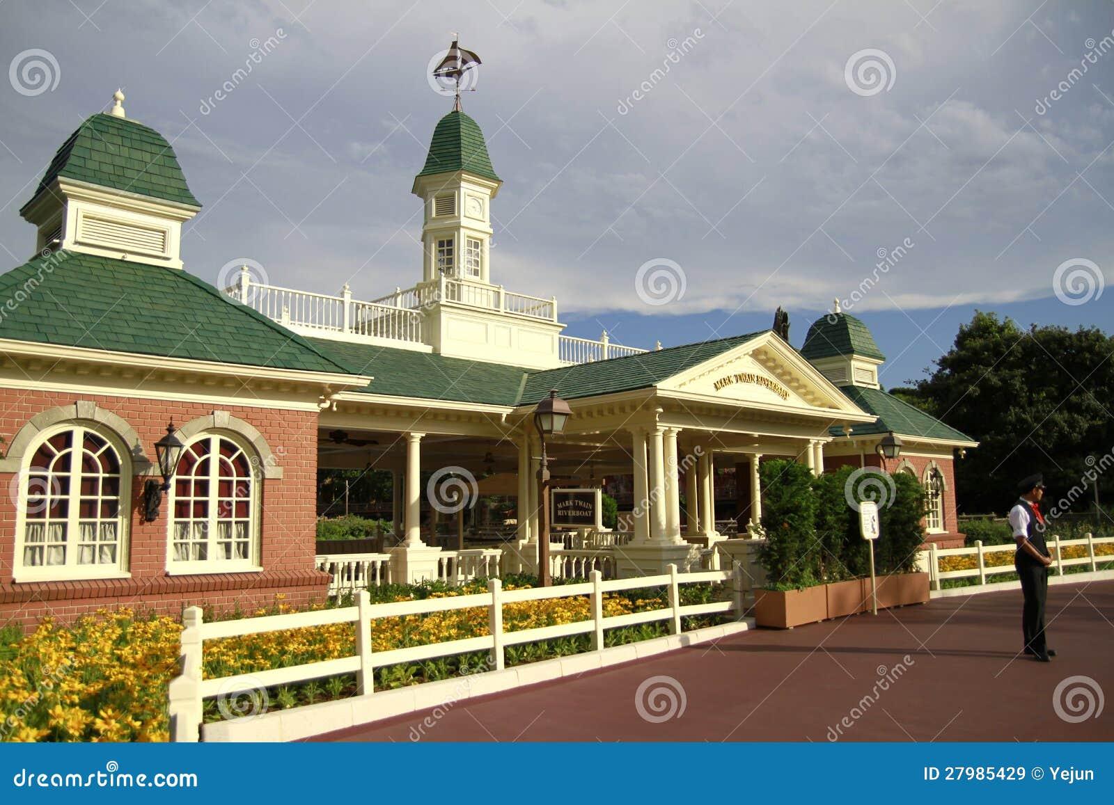 Maison am ricaine de style tokyo disneyland image stock - Style maison americaine ...