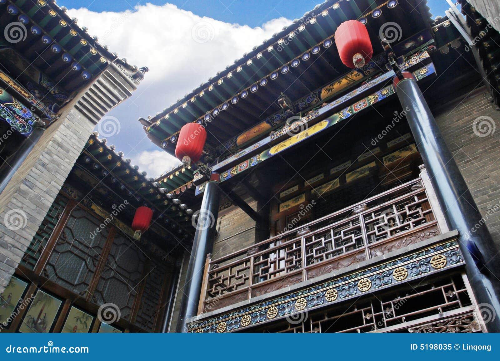 Maison antique de la chine image stock image du gal 5198035 - Maison de la chine boutique ...