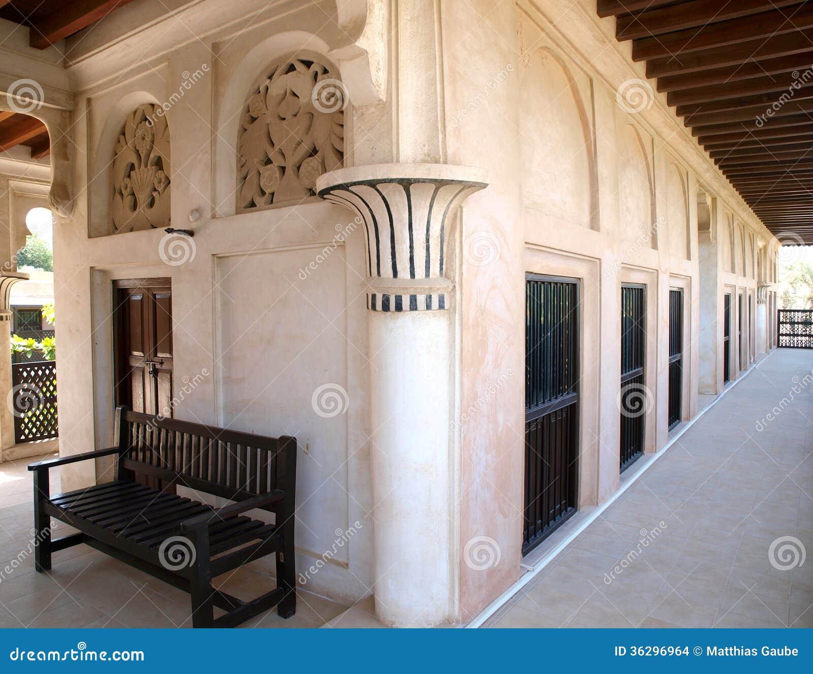 Maison arabe 2 photo stock image du rampe architecture for Architecture maison arabe