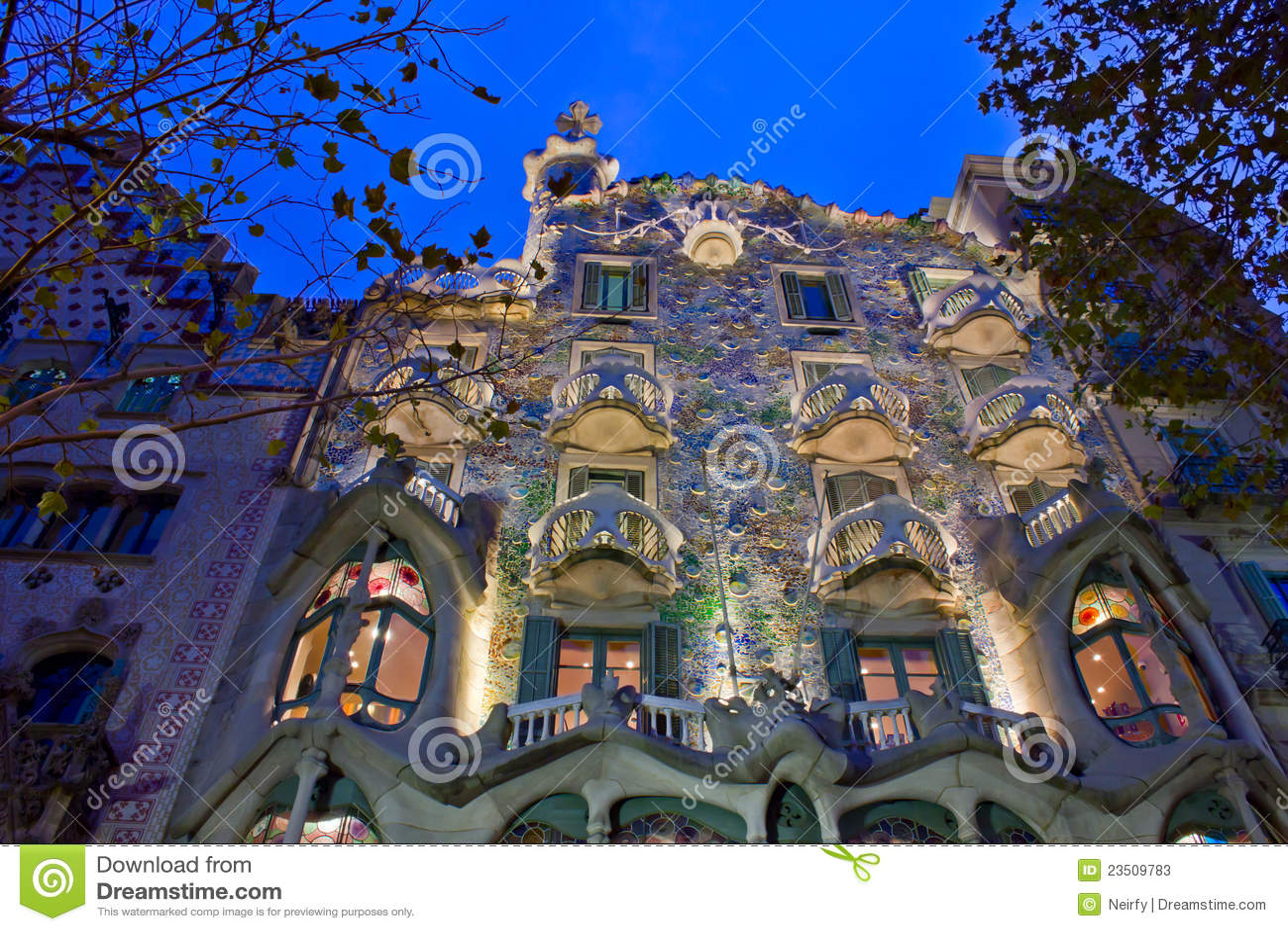 Maison Batllo, Barcelone, Espagne