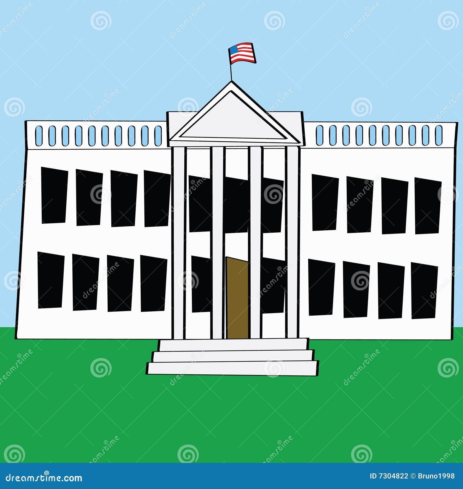Dessin Facile Maison Blanche
