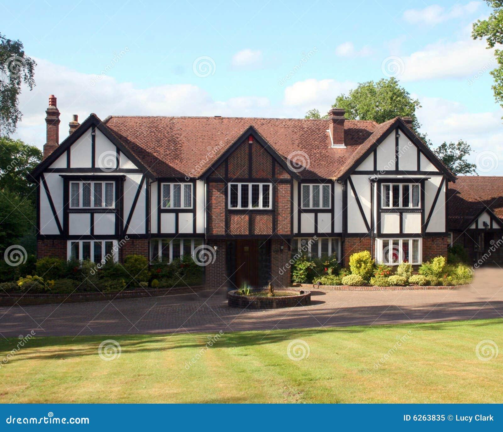 Maison britannique de Tudor