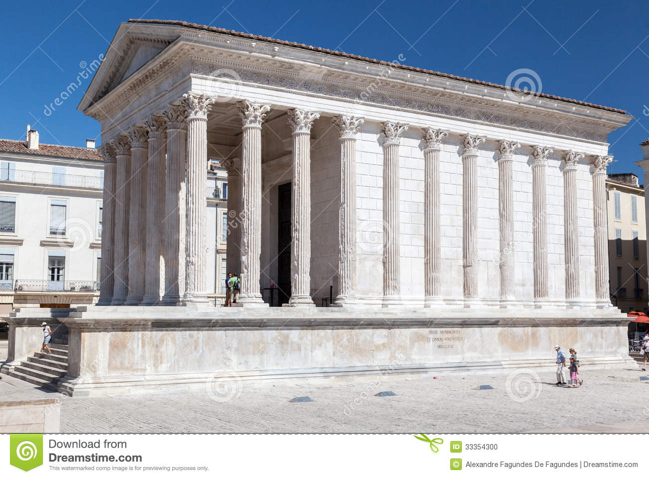 Maison carree nimes france editorial image image of - Maison carree nimes ...
