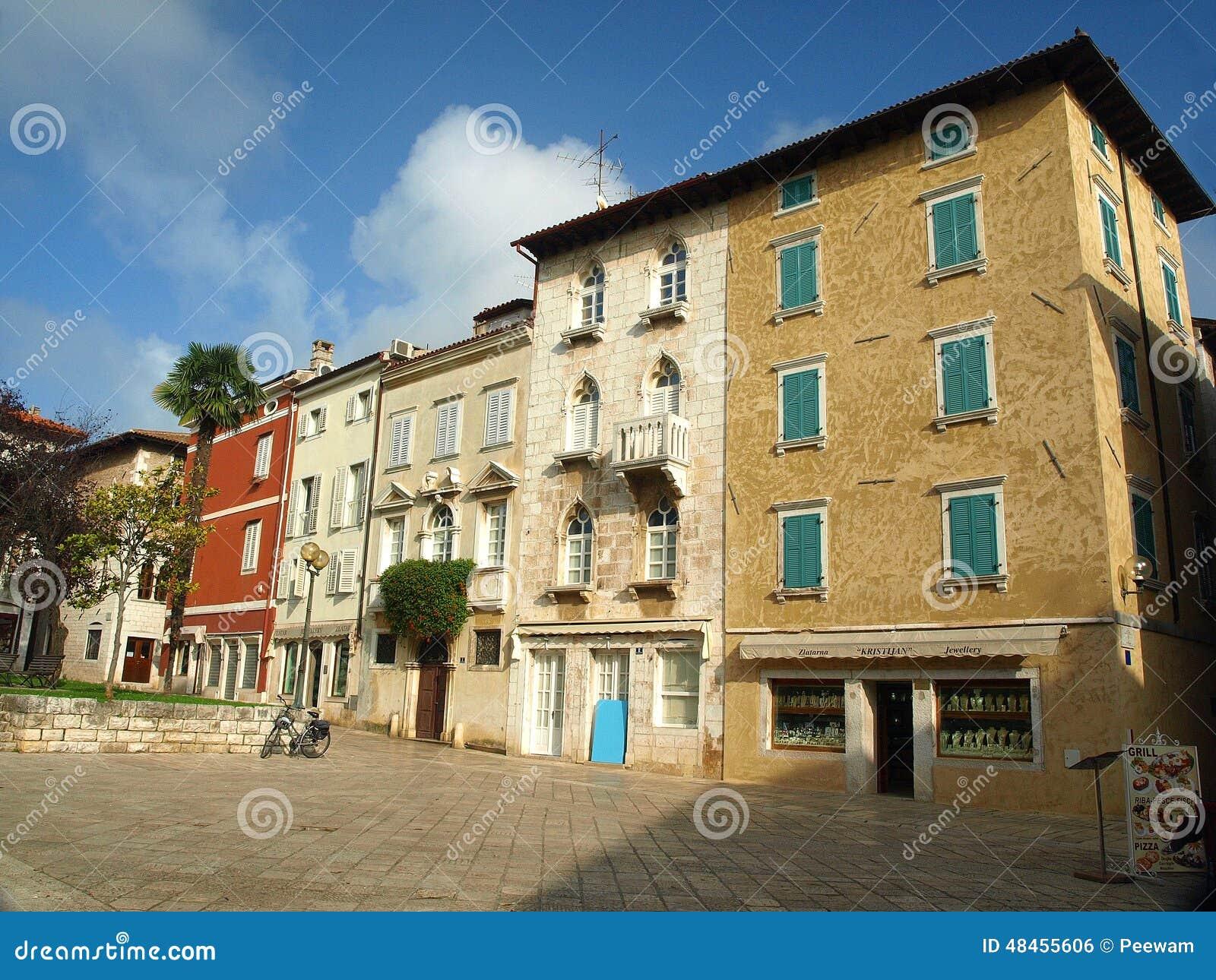 Maison d Italianate dans Porec