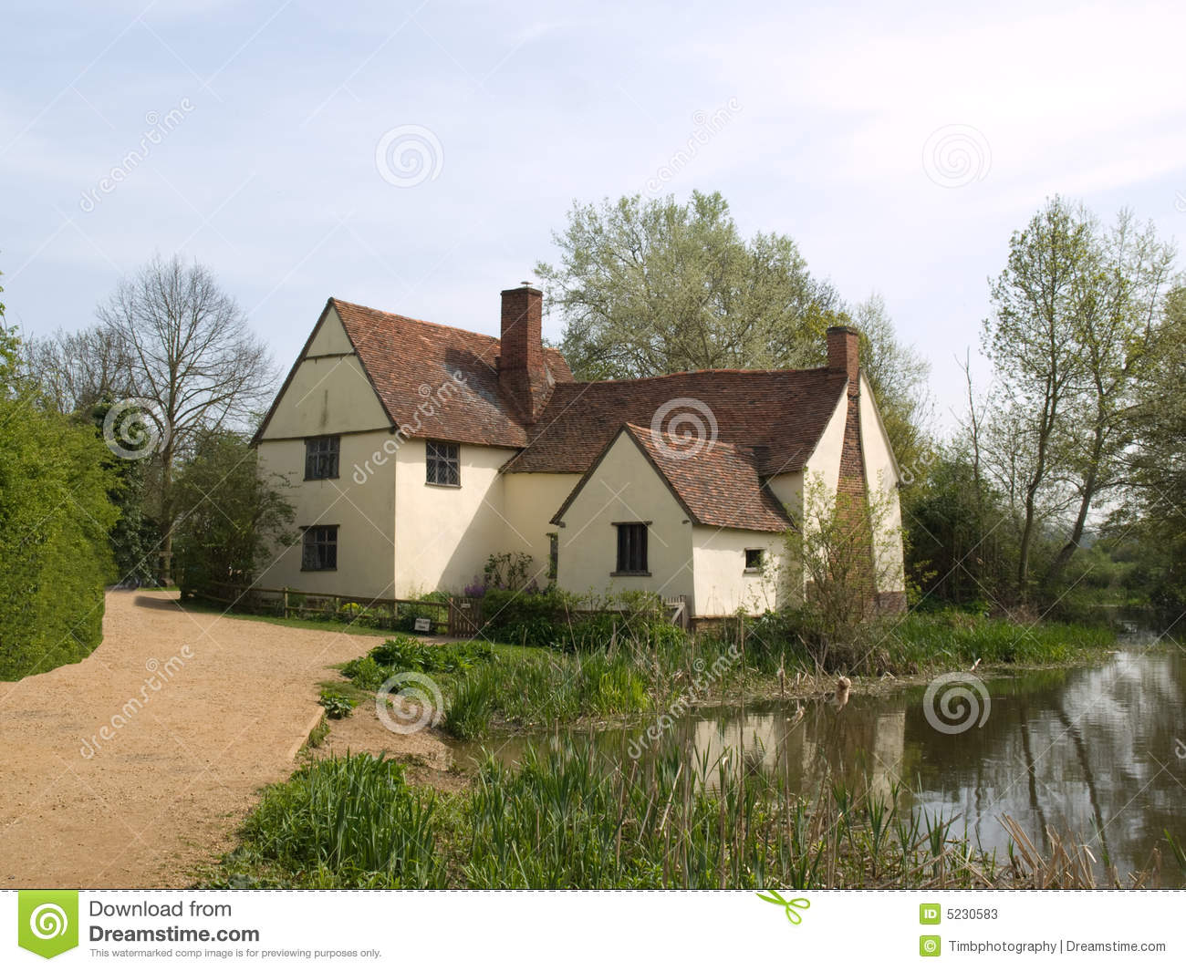 Maison de campagne anglaise image stock image 5230583 - Maison de campagne anglaise ...