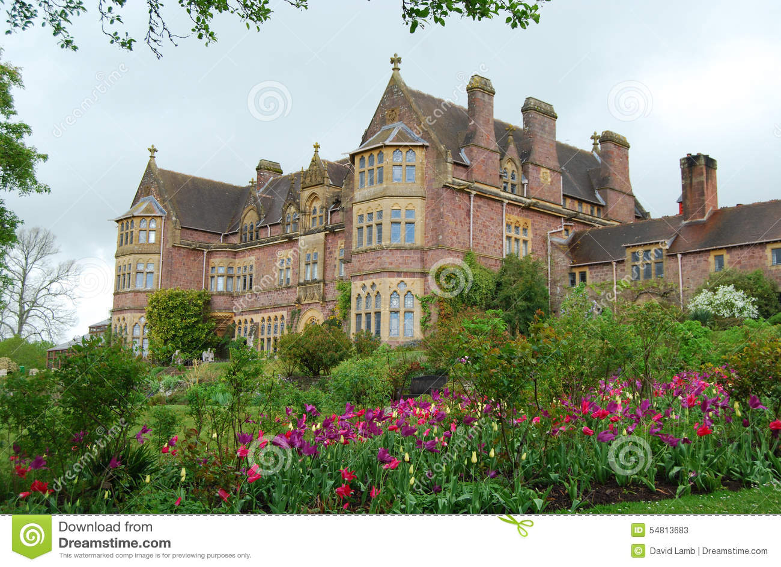 Maison de campagne anglaise devon photo stock image for Maison anglaise typique plan