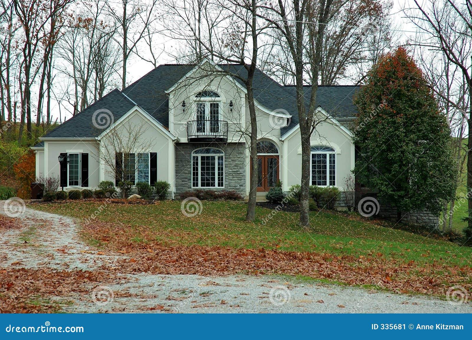 Maison de campagne en automne image stock image 335681 - Maison de la campagne ...