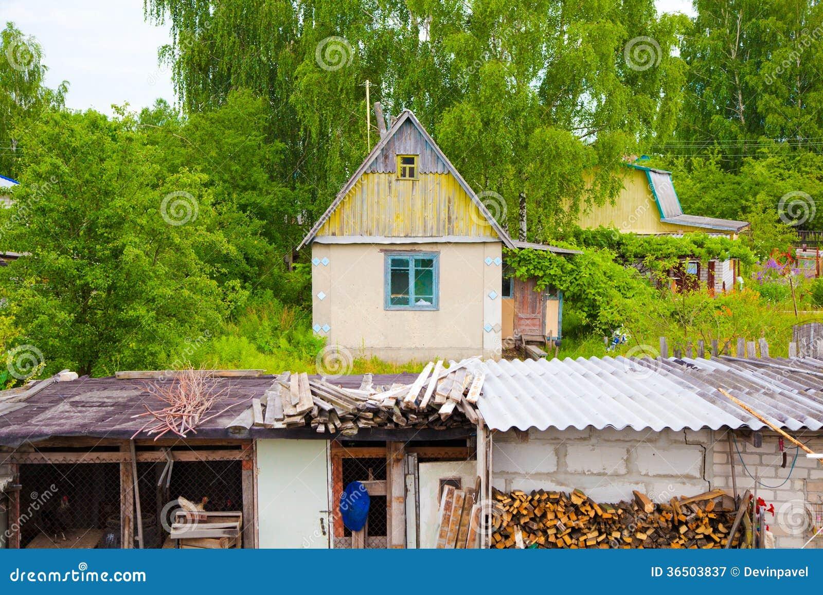 Maison de campagne, la vie rurale
