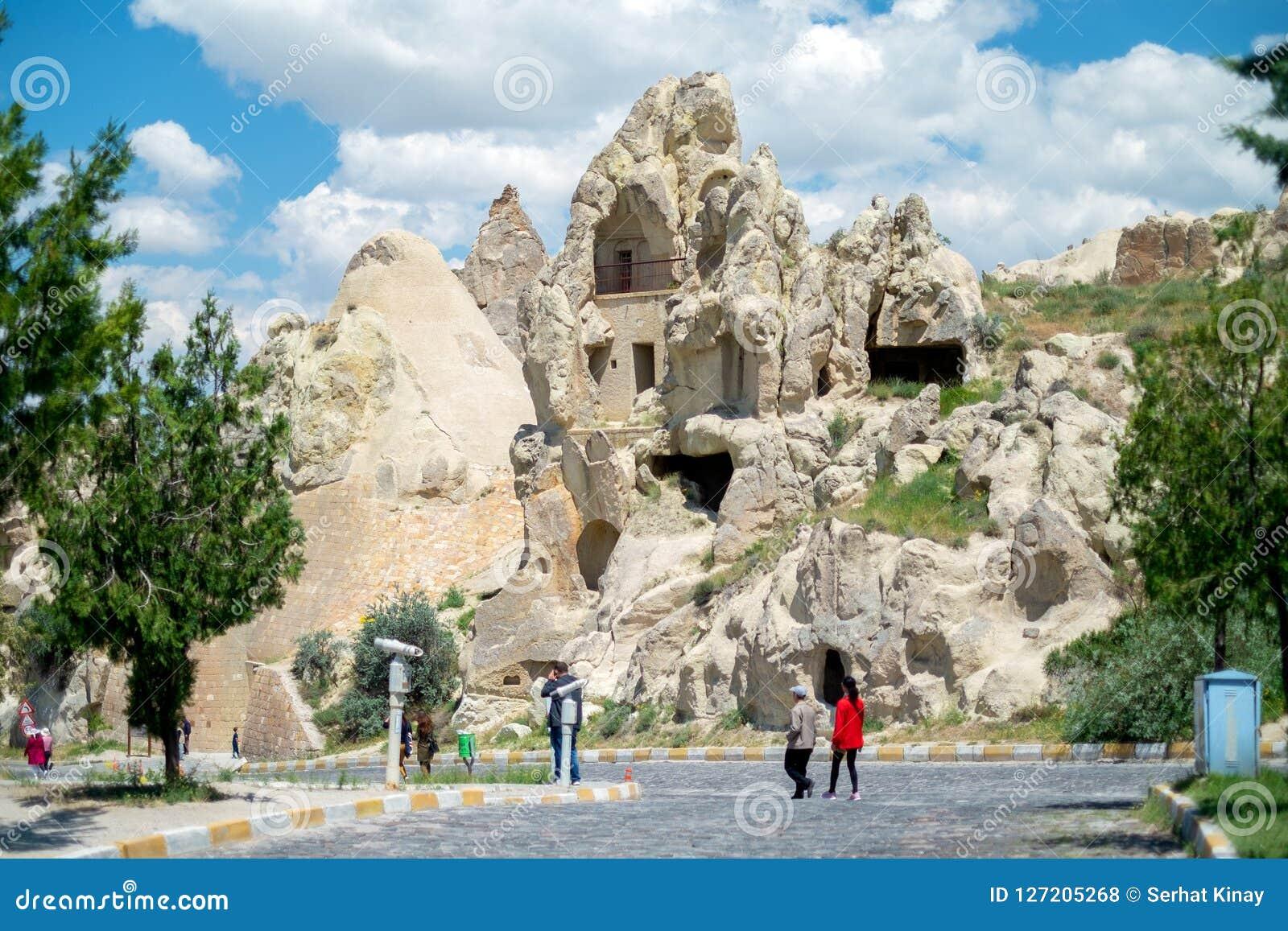 Maison de crique Vue de la ville dans Cappadocia