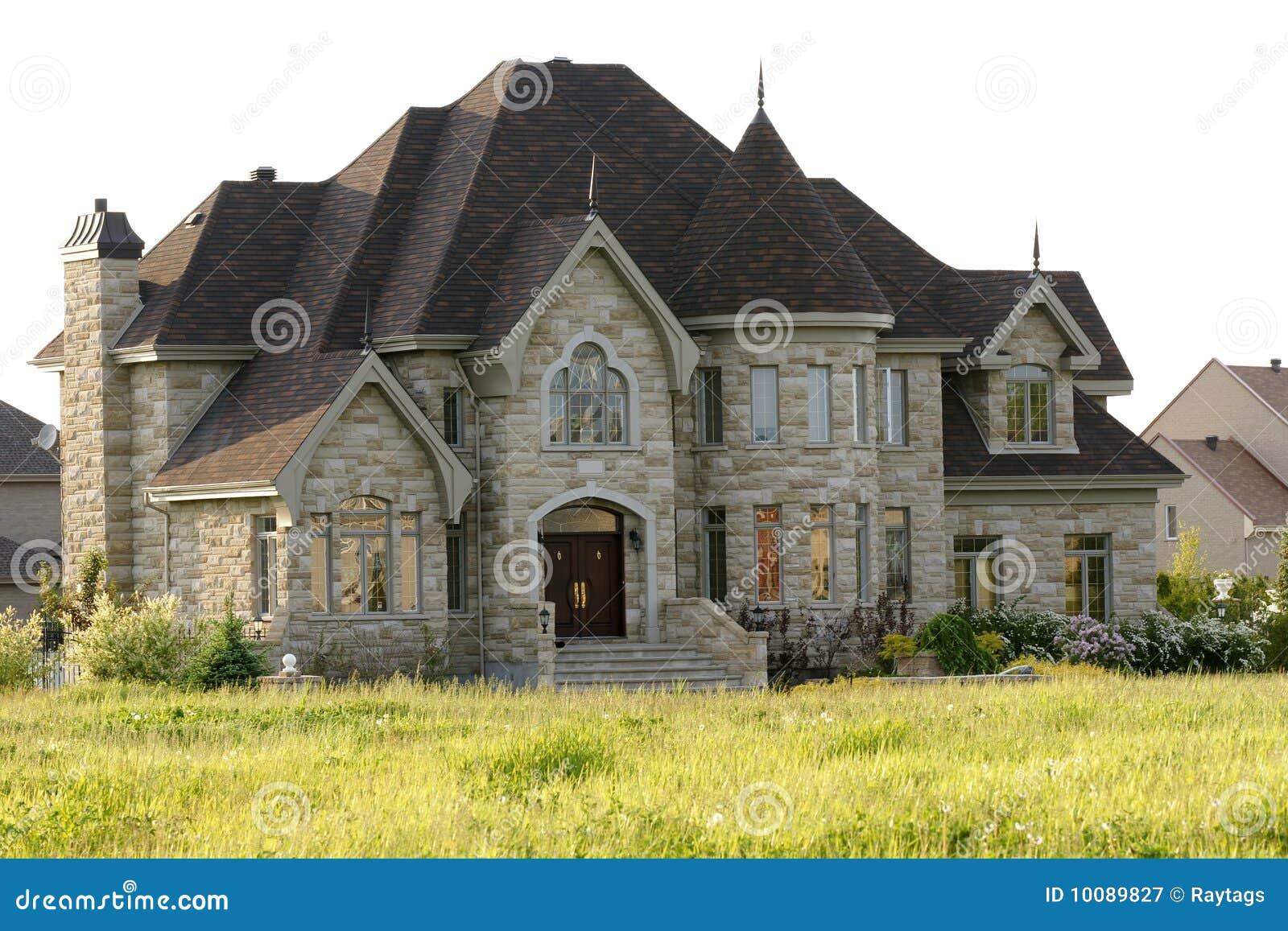 maison de luxe photographie stock libre de droits image 10089827. Black Bedroom Furniture Sets. Home Design Ideas