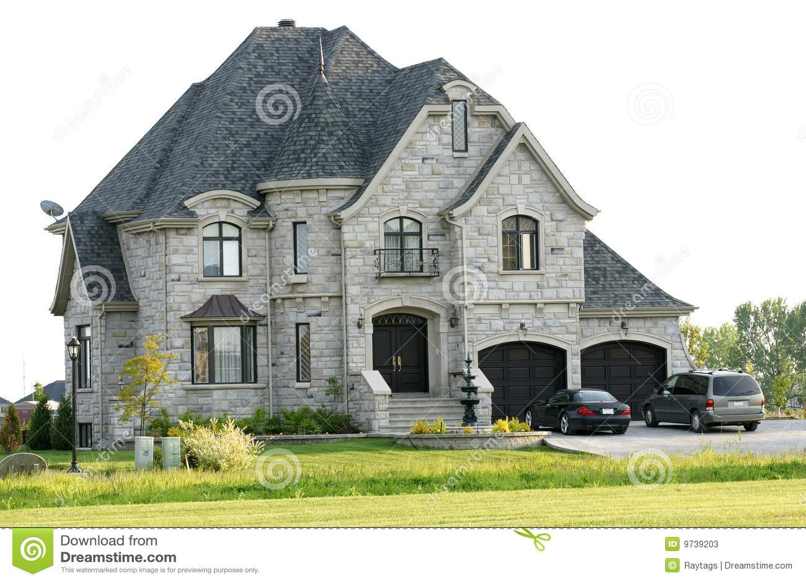 maison de luxe image stock image du soin fantaisie r el 9739203. Black Bedroom Furniture Sets. Home Design Ideas