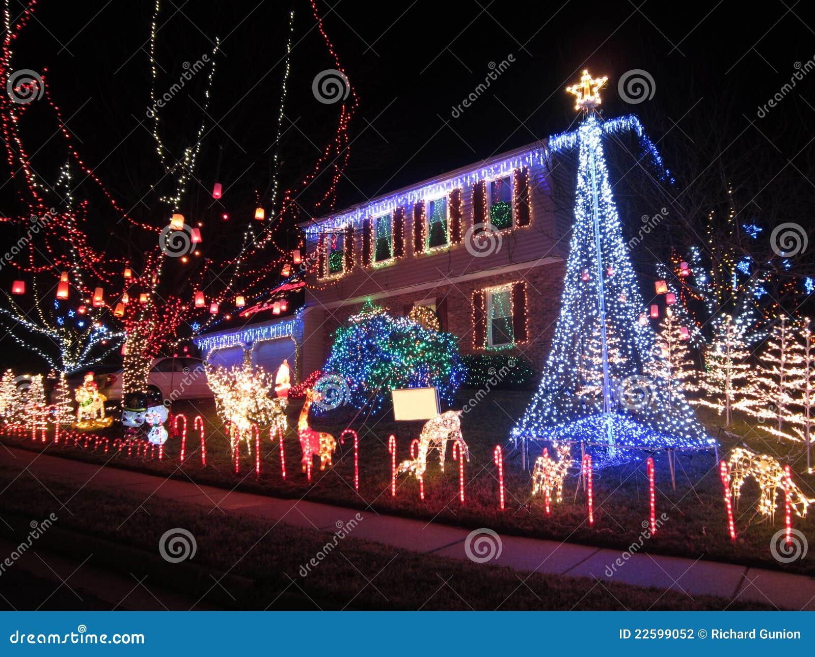 Maison de Noël de Springfield la Virginie
