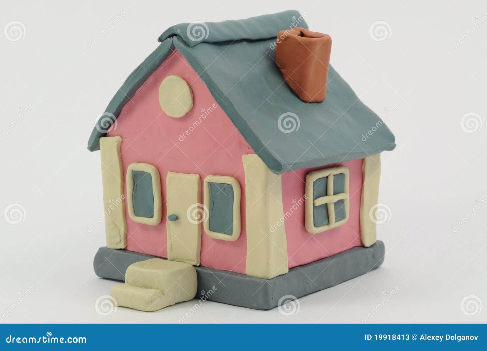 Maison de p te modeler - Pate a modeler maison ...