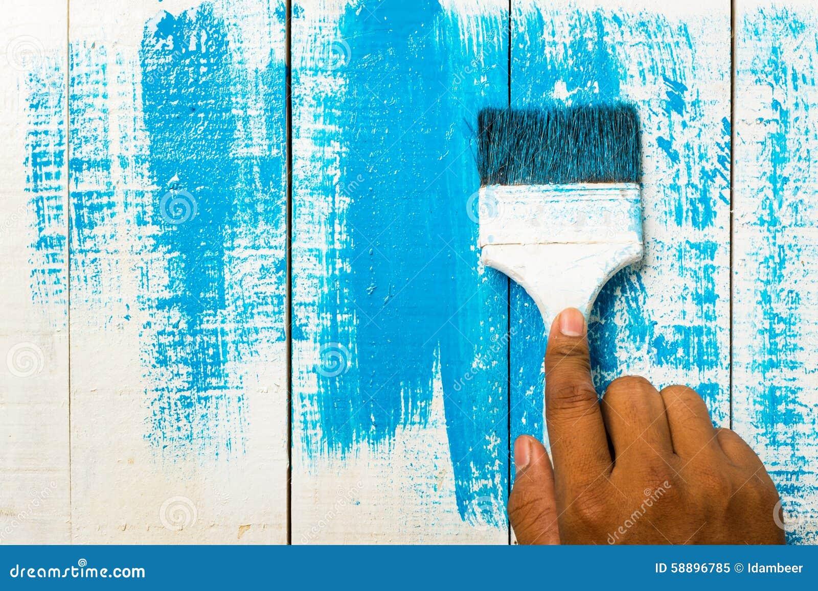 Maison de peinture de main